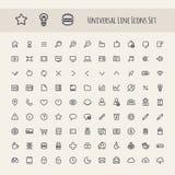Sistema de la línea icono del universal Imagen de archivo libre de regalías