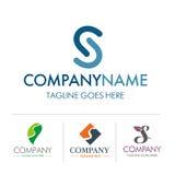Sistema de la letra S del logotipo Foto de archivo