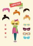 Sistema de la moda de la muchacha del inconformista