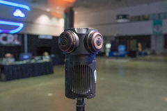Sistema de la Multi-cámara 360 VR Imagenes de archivo