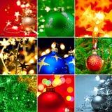 Sistema de la Navidad Fotos de archivo libres de regalías