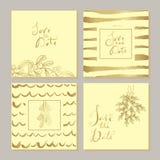 Sistema de la Navidad cards23 libre illustration