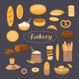 Sistema de la panadería Imagen de archivo