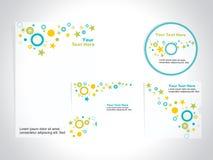 Sistema de la plantilla de la identidad corporativa, vector Foto de archivo libre de regalías