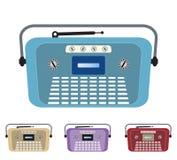 Sistema de la radio vieja del vintage Foto de archivo libre de regalías