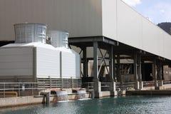 Sistema de la refrigeración por agua. Fotografía de archivo