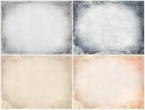 Texturas del Grunge fijadas Fotos de archivo libres de regalías