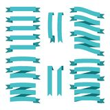 Sistema de las cintas del estilo del vintage del vector para el negocio y el diseño libre illustration