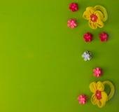 Sistema de las gomas del horquilla del ` s de los niños y para el pelo Imagen de archivo libre de regalías