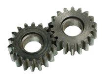 Sistema de las ruedas de engranaje Imagen de archivo