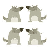 Sistema de lobos libre illustration