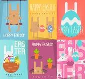 Sistema de los carteles de Pascua libre illustration