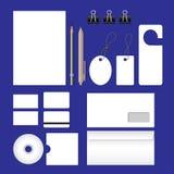 Sistema de los efectos de escritorio de la oficina Imagenes de archivo