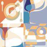 Sistema de los fondos para el menú libre illustration