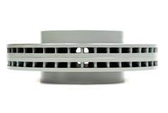 Sistema de los nuevos discos del freno para el coche Vista lateral Imagenes de archivo