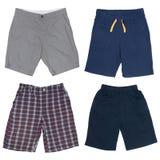 Sistema de los pantalones cortos masculinos Imagenes de archivo