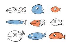 Sistema de los pescados Imagen de archivo