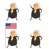 Sistema de los presidentes de Washington ilustración del vector