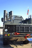Sistema de mísseis antiaéreo do estrondo S-300 Fotografia de Stock
