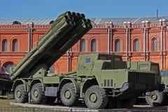 Sistema de mísseis móvel Fotografia de Stock