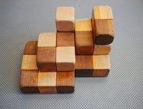 Sistema de madera de la unidad de creación Fotos de archivo