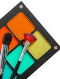 Sistema de maquillaje profesional Imagen de archivo libre de regalías