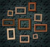 Sistema de marcos Foto de archivo