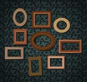 Sistema de marcos Imagen de archivo libre de regalías