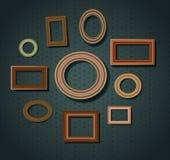Sistema de marcos Fotos de archivo