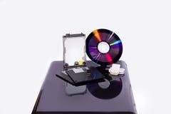 Sistema de medios de almacenamiento Foto de archivo