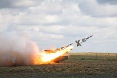 Sistema de misiles antiaéreo Imagen de archivo libre de regalías