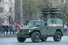 Sistema de misiles antitanques automotor Kornet-D1 Fotos de archivo libres de regalías
