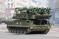 Sistema de misiles de Buk Fotografía de archivo libre de regalías