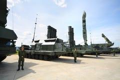 Sistema de misiles S-300 de la defensa aérea Fotografía de archivo libre de regalías