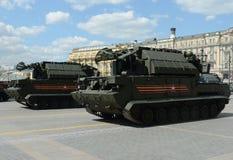 Sistema de misiles táctico Tor-M2U de la defensa aérea Fotografía de archivo
