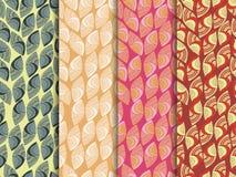 Sistema de modelos inconsútiles étnicos Modelo inconsútil indio El modelo para el papel pintado, las tejas, las telas y los diseñ Imágenes de archivo libres de regalías