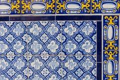 Sistema de mosaicos catalanes típicos, con adornos del animal y de la naturaleza B Fotografía de archivo libre de regalías