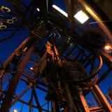 Sistema de movimentação e perfuração superiores Rig Derrick imagens de stock