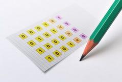 Sistema de número binario libre illustration
