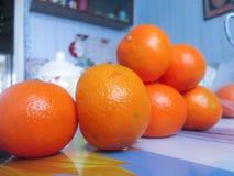 Sistema de naranjas Foto de archivo