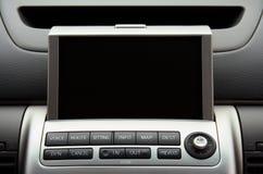 Sistema de navegação do veículo do GPS foto de stock