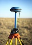 Sistema de navegação mundial para determinar o lugar exato do objeto fotografia de stock