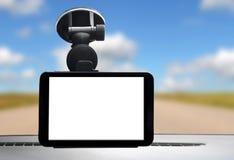 Sistema de navegación del coche fotos de archivo libres de regalías