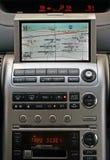 Sistema de navegación del vehículo del GPS Imagen de archivo libre de regalías