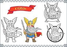 Sistema de Odin de dios de imágenes ilustración del vector