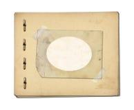 Sistema de papeles viejos y de la postal archivales del vintage aislada Fotos de archivo