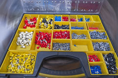 Sistema de pequeños accesorios Foto de archivo libre de regalías