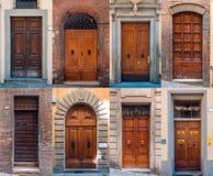 Sistema de puertas italianas Fotos de archivo