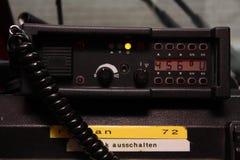 Sistema de radio Foto de archivo libre de regalías