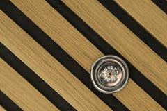 Sistema de rociadores en la madera Fotografía de archivo